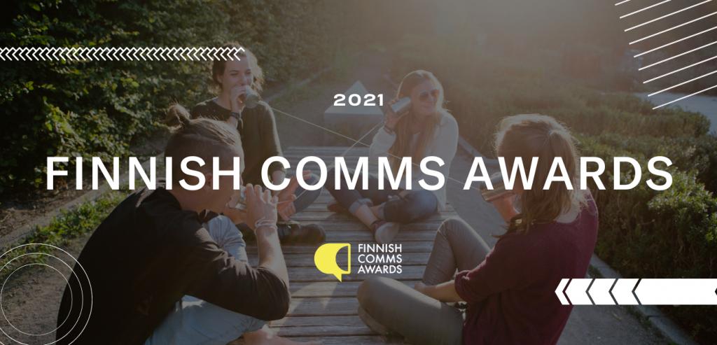 Finnish Comms Awards – asiakkaan ja toimiston yhteinen kilpailu